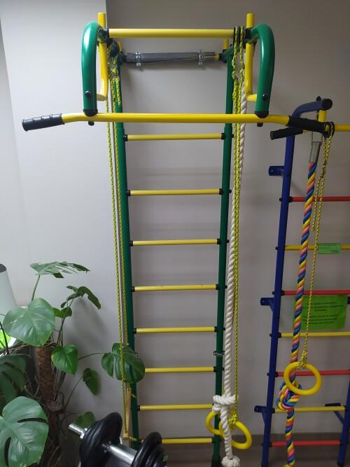 DEMO Sports complex Pioner-1 green-yellow (swedish wall)