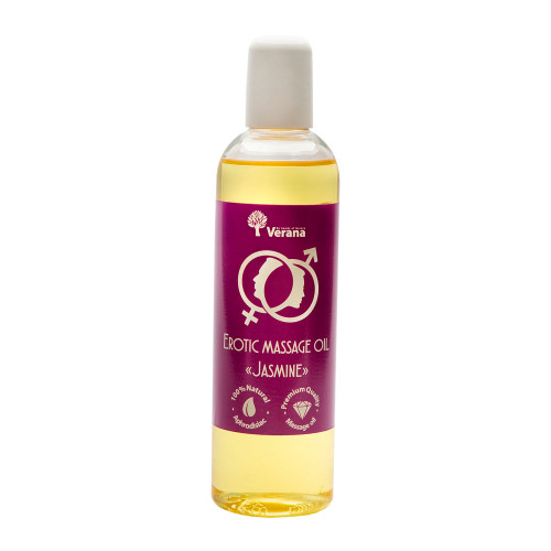 Erotic massage oil Verana, Jasmine flower 250 ml