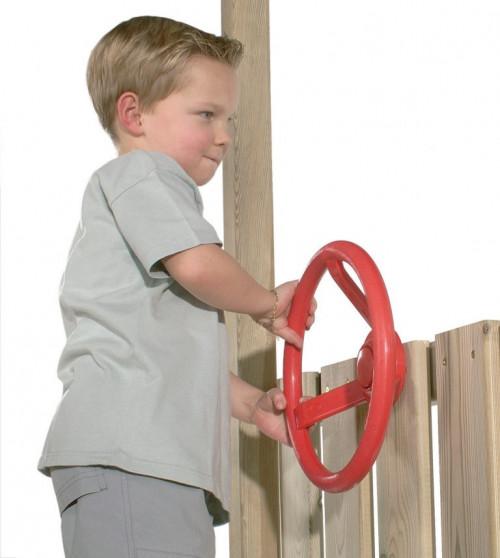 Laste rool kinnitustega, KBT, Ø 300 mm, punane