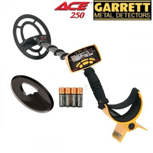 Metallidetektor Garrett ACE 250 + GIFTS