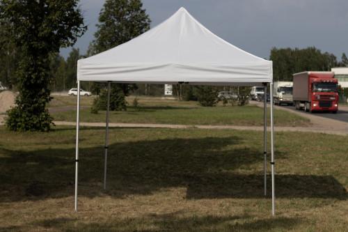 Pop Up mobiilne kokkupandav telk X-seeria tent 3x3 m  - alumiiniumkarkass
