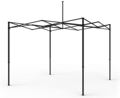 Kokkupandav tendi karkass 2.92 x 2.92 m (teras, 30x30x0,6 mm)