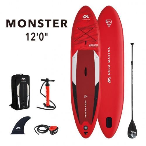 SUP board Aqua Marina MONSTER 366x84x15 cm BT-21MOP