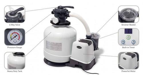 Liivafilter pump Intex, 56.5х59х39 cm (26646)