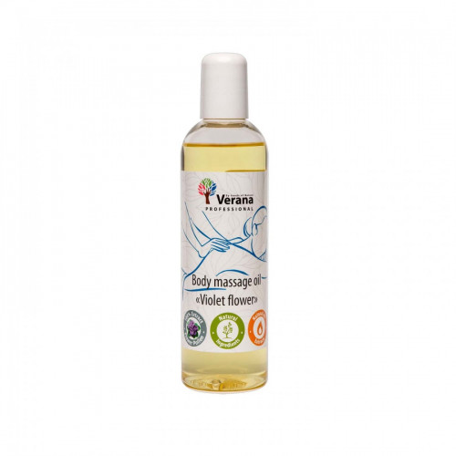 Body massage oil Verana Professional, Violet flower 250ml