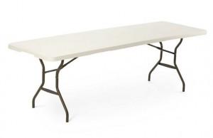 Lifetime 80270 Fold-in-Half Table Lifetime 244x76cm