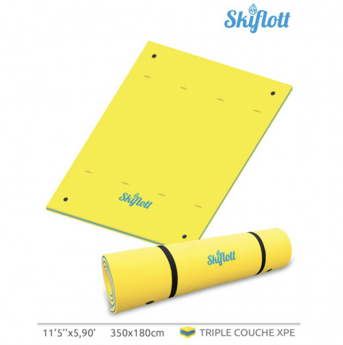 Ujuv veematt SKIFLOTT-L 350x180x3,5 cm (SKIFLOTT-L)