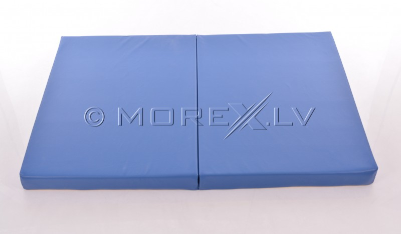 Leather safety mat 80x120cm blue-yellow