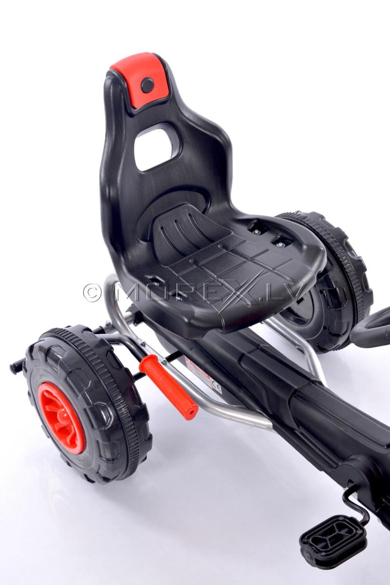 Velokart (Velomobile) Go-Kart 1501 Red (3-6 years)