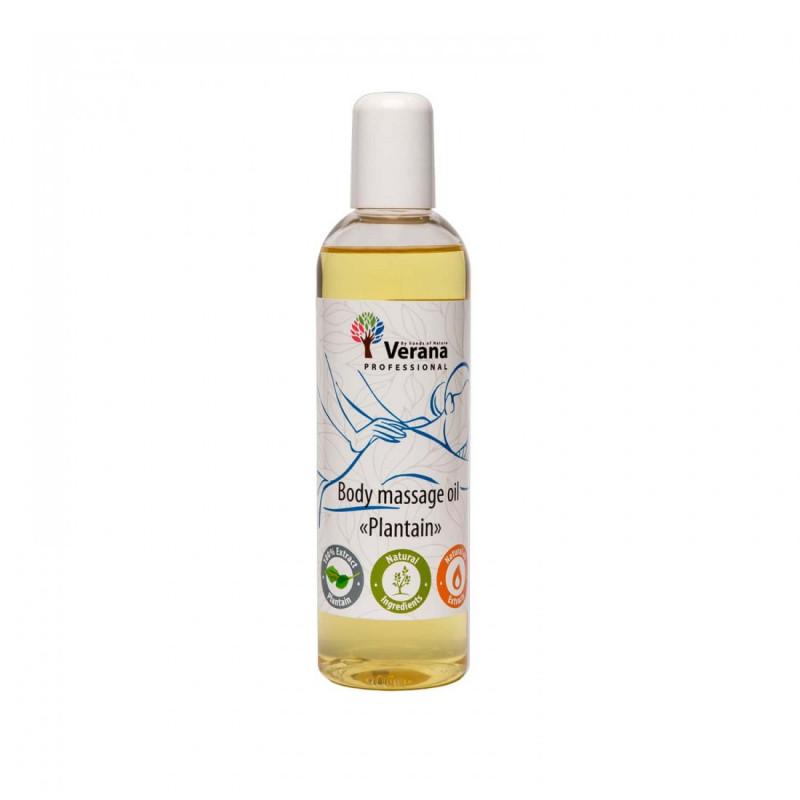 Body massage oil Verana Professional, Plantain 250ml