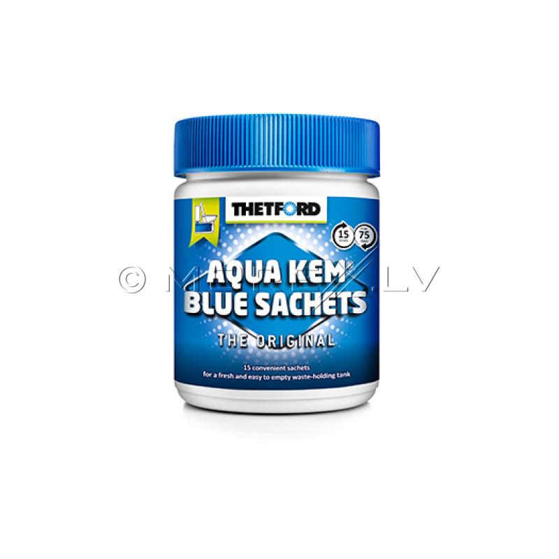 Thetford Aqua Kem® Blue Sachets (Can) 15 tabs for chemical toilets