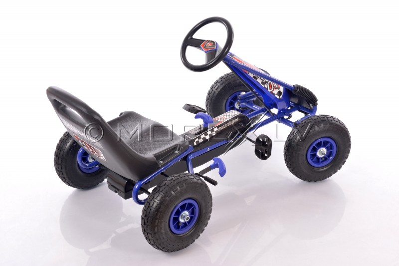 Velokart (Velomobile) Go-Kart A-15 Blue (3-8 years)