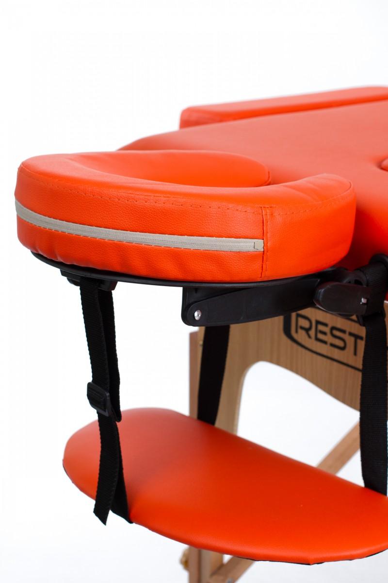 RESTPRO® Classic-2 Orange massaažilaual (diivan)